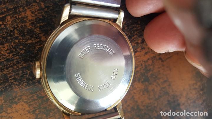 Relojes automáticos: RELOJ TIMEX AUTOMATICO - WATER RESISTANT. FUNCIONA CORRECTAMENTE. BUEN ESTADO. - Foto 5 - 210234150