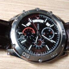 Relojes automáticos: RELOJ DE PULSERA DE CABALLERO. GUESS STEEL. JAPAN MOV'T. Lote 210412326
