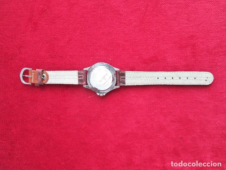 Relojes automáticos: RELOJ DE PULSERA SUPERWATCH QUARTZ - FUNCIONANDO - SIN ESTRENAR, SIN RALLAR - CORREA DE PIEL - Foto 6 - 210549478