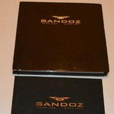 Relojes automáticos: SANDOZ - ESPECTACULAR LIBRO EN CAJA DE LUJO - HISTORIA DE LA MANUFACTURA. Lote 210612261