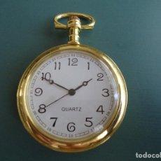 Relojes automáticos: RELOJ DE BOLSILLO DE COLECCIÓN. FUNCIONA A PILAS. Lote 210694475