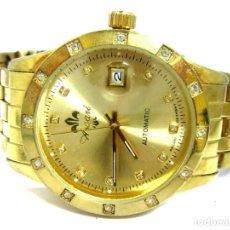 Relojes automáticos: ASCARI - GOLDFB. MAGNIFICO RELOJ DE PULSERA DE METAL -NUEVO- (AUTOMÁTICO NUEVO. Lote 210961831
