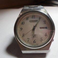 Relojes automáticos: MAGNIFICO ANTIGUO RELOJ AUTOMATICO CITIZEN 21 JEWELS FUNCIONANDO. Lote 210974904