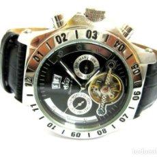 Relojes automáticos: RELOJ AUTOMÁTICO LINDBERG & SONS CRONOGRAFO PLATEADO-PRODUCTOS NUEVOS. Lote 211658879