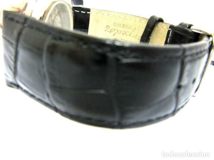 Relojes automáticos: Torpedo-reloj AUTOMÁTICO de pulsera CORRE NEGRA HORARIO MUNDIAL-productos nuevos - VER FOTOS - Foto 3 - 211805656