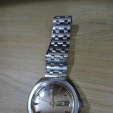 Relojes automáticos: RELOJ EXACTUS PULSERA CABALLERO. 25 JEWELS CALENDARIO DOBLE. PERFECTO FUNCIONAMIENTO SETENTERO. Lote 211949662