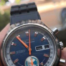 Relojes automáticos: RELOJ CRONÓGRAFO AUTOMÁTICO CITIZEN AÑOS 70. Lote 212886476