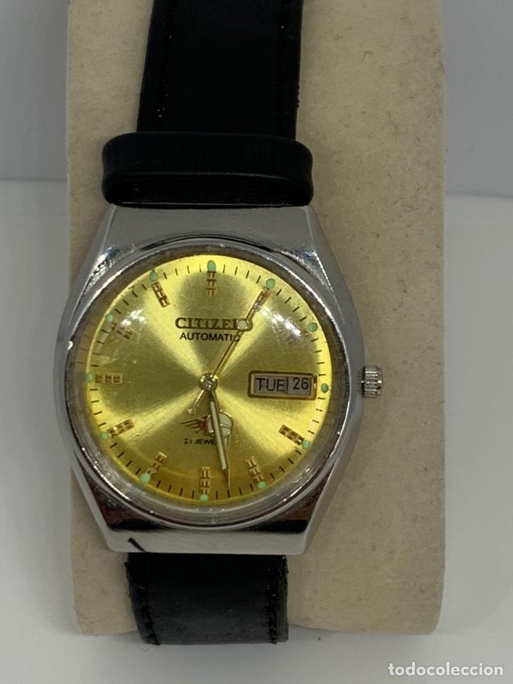Relojes automáticos: Reloj Citizen Automático Flamante - Foto 5 - 213016572
