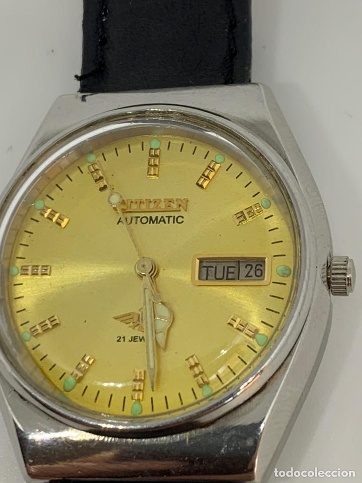 Relojes automáticos: Reloj Citizen Automático Flamante - Foto 2 - 213016572