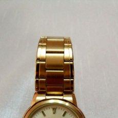 Relojes automáticos: RELOJ SEIKO 5 AUTOMATIC DORADO. Lote 213237090
