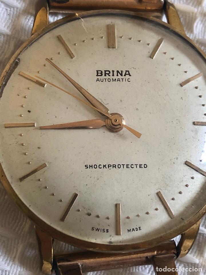 Relojes automáticos: ANTIGUO RELOJ BRINA SHOCKPROTECTED - Foto 4 - 213414258