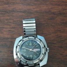 Relojes automáticos: IMPRESIONANTE RELOJ ANTIGUO DE PULSERA AUTOMÁTICO LORD WELLINGTON GRAN TAMAÑO. Lote 213543221