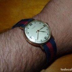 Relojes automáticos: ESCASO RELOJ NORMANA CALIBRE AS1194 SEGUNDERO CENTRAL SWISS MADE 17 RUBIS AÑOS 40 ASAS FIJAS. Lote 213713178