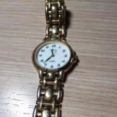 Relojes automáticos: ELEGANTE RELOJ DE PULSERA DE SEÑORA. AÑOS 40-50. CHAPADO EN ORO.. Lote 213739053