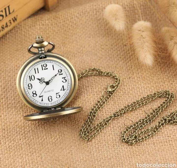Relojes automáticos: RELOJ DE BOLSILLO TAJ MAHAL. MONUMENTO INDIA VINTAGE - Foto 3 - 214431773