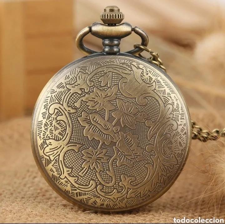 Relojes automáticos: RELOJ DE BOLSILLO TAJ MAHAL. MONUMENTO INDIA VINTAGE - Foto 4 - 214431773