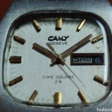 Relojes automáticos: RELOJ CAMY TIME SQUARE 29.. Lote 214678100