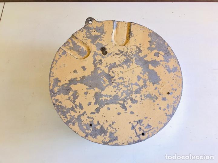 Relojes automáticos: BULLE-CLOCK OB84 RELOJ DE PARED INDUSTRIAL REDONDO DE MECANISMO ELÉCTRICO EN CAJA CROMADA - Foto 9 - 54600864
