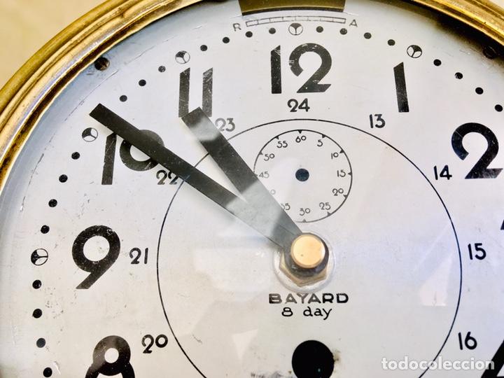 Relojes automáticos: RELOJ DE BARCO BAYARD 8 DAY CON MECANISMO ELÉCTRICO RELOJ DE PARED NAUTICO EN CAJA DE LATON - Foto 4 - 215778616