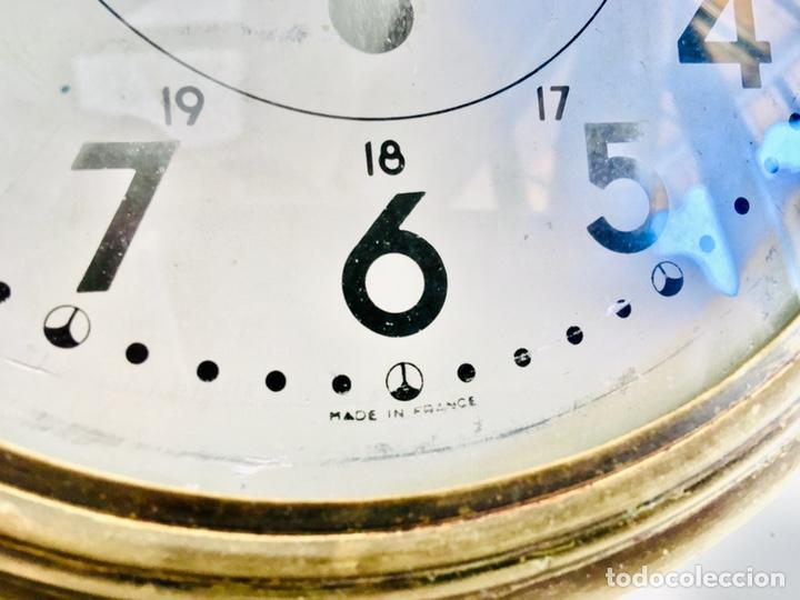 Relojes automáticos: RELOJ DE BARCO BAYARD 8 DAY CON MECANISMO ELÉCTRICO RELOJ DE PARED NAUTICO EN CAJA DE LATON - Foto 5 - 215778616