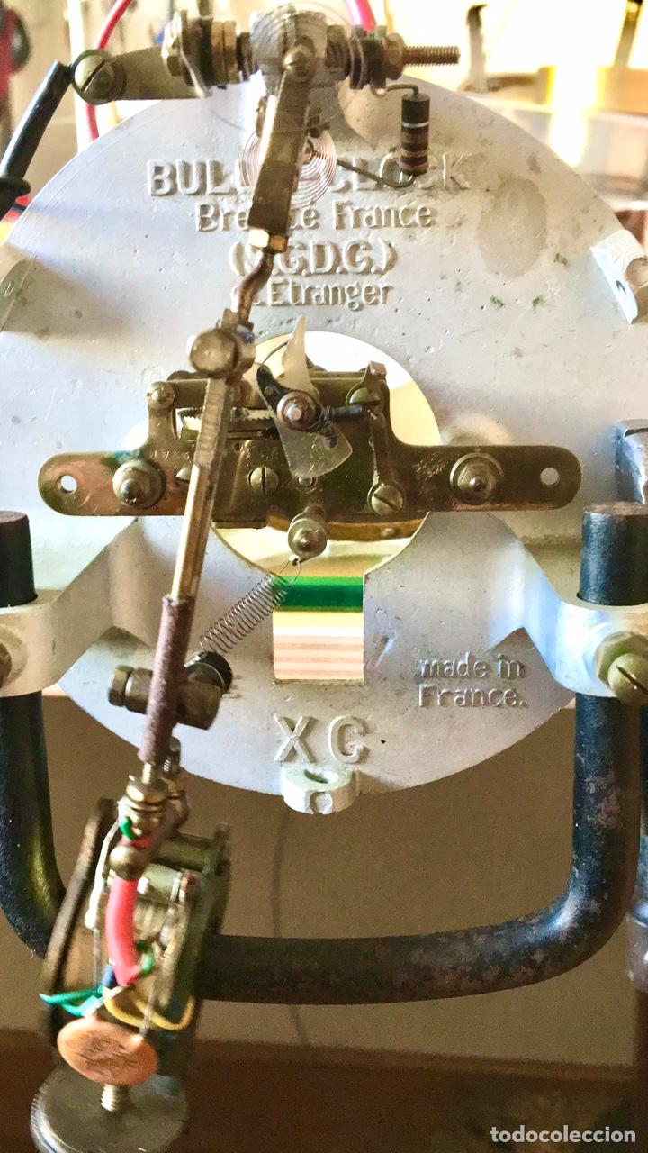 Relojes automáticos: BULLE-CLOCK OB84 RELOJ DE PARED INDUSTRIAL REDONDO DE MECANISMO ELÉCTRICO EN CAJA CROMADA - Foto 11 - 54600864