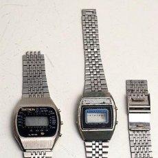 Relojes automáticos: PIEZAS DE 2 RELOJES DIGITALES ANTIGUOS. Lote 215955301