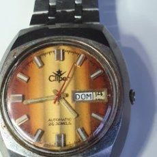 Relojes automáticos: RELOJ DE CABALLERO, CLIPER. 25 JEWELS, AUTOMÁTICO, FUNCIONANDO.. Lote 216481702