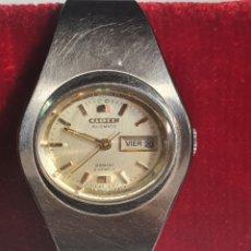 Relojes automáticos: RELOJ, DE MUJER, FUNCIONANDO, CITIZEN 28800, AUTOMATIC DE 21 JEWELS Y CORREA ORIGINAL.. Lote 216544126