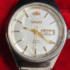 Relojes automáticos: RELOJ, ORIENT, CRYSTAL, 21 JEWELS, DE MUJER, AUTOMÁTICO, FUNCIONANDO, EL FOTOGRAFIADO.. Lote 216547090