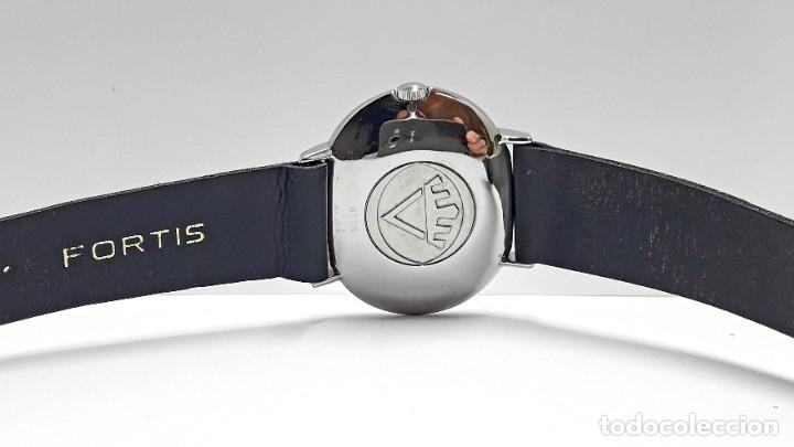 Relojes automáticos: RELOJ VINTAGE FORTIS SKYLARK AUTOMÁTICO - Foto 5 - 216557421