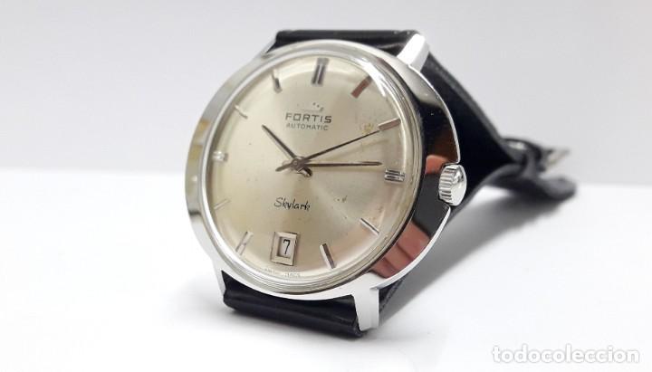Relojes automáticos: RELOJ VINTAGE FORTIS SKYLARK AUTOMÁTICO - Foto 6 - 216557421