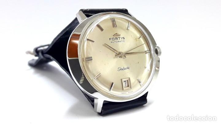 Relojes automáticos: RELOJ VINTAGE FORTIS SKYLARK AUTOMÁTICO - Foto 8 - 216557421