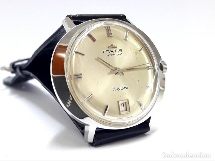 Relojes automáticos: RELOJ VINTAGE FORTIS SKYLARK AUTOMÁTICO - Foto 9 - 216557421