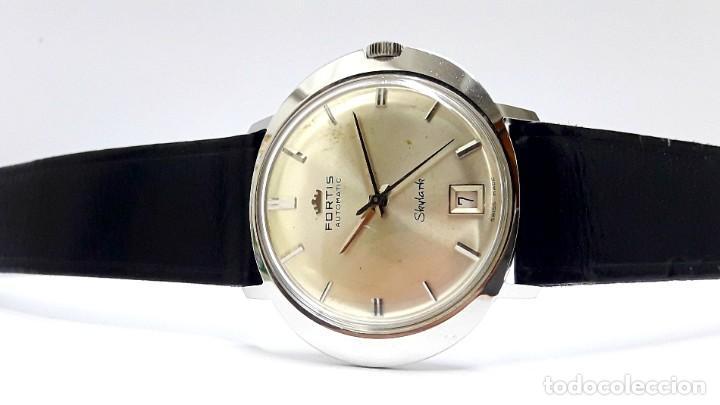 Relojes automáticos: RELOJ VINTAGE FORTIS SKYLARK AUTOMÁTICO - Foto 10 - 216557421