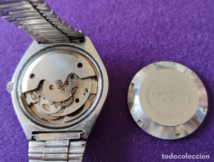 Relojes automáticos: ANTIGUO RELOJ DE PULSERA TITAN. SWISS. CARGA AUTOMATICA.EN FUNCIONAMIENTO.AÑOS 60.CABALLERO - Foto 2 - 216577945