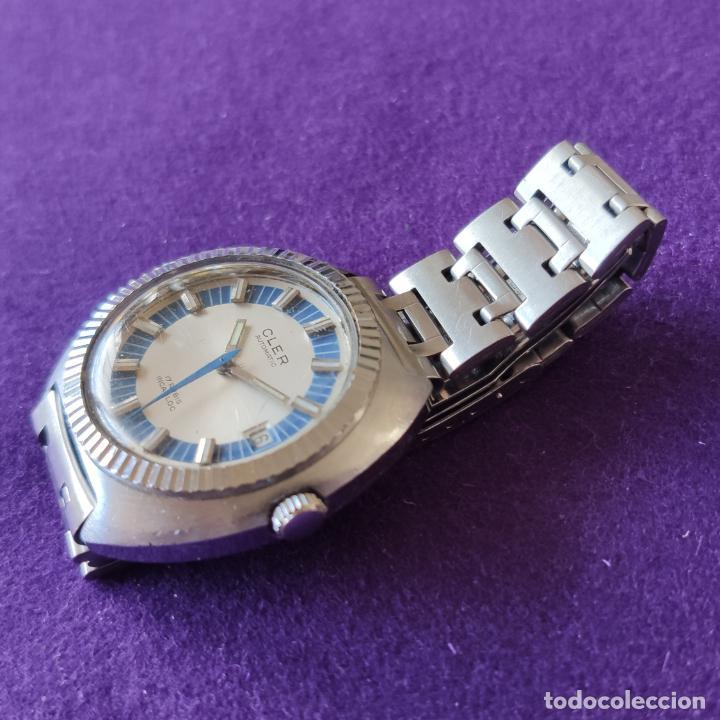 Relojes automáticos: ANTIGUO RELOJ DE PULSERA CLER. SWISS. CARGA AUTOMATICA.EN FUNCIONAMIENTO.AÑOS 60.CABALLERO - Foto 2 - 216578963