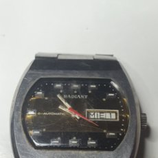 Relojes automáticos: RELOJ DE HOMBRE, RADIANT AUTOMATIC, FUNCIONANDO, EL FOTOGRAFIADO.. Lote 216619191