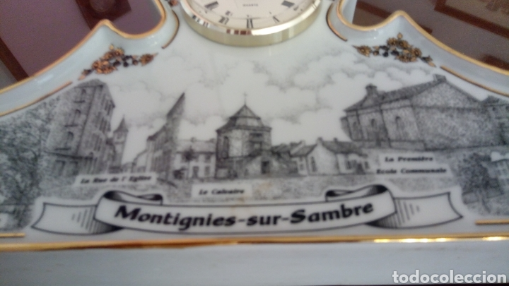 Relojes automáticos: ORIGINAL RELOJ SOBREMESA DE CERAMICA -NUMERADO CON EL 14 - Foto 2 - 217090928