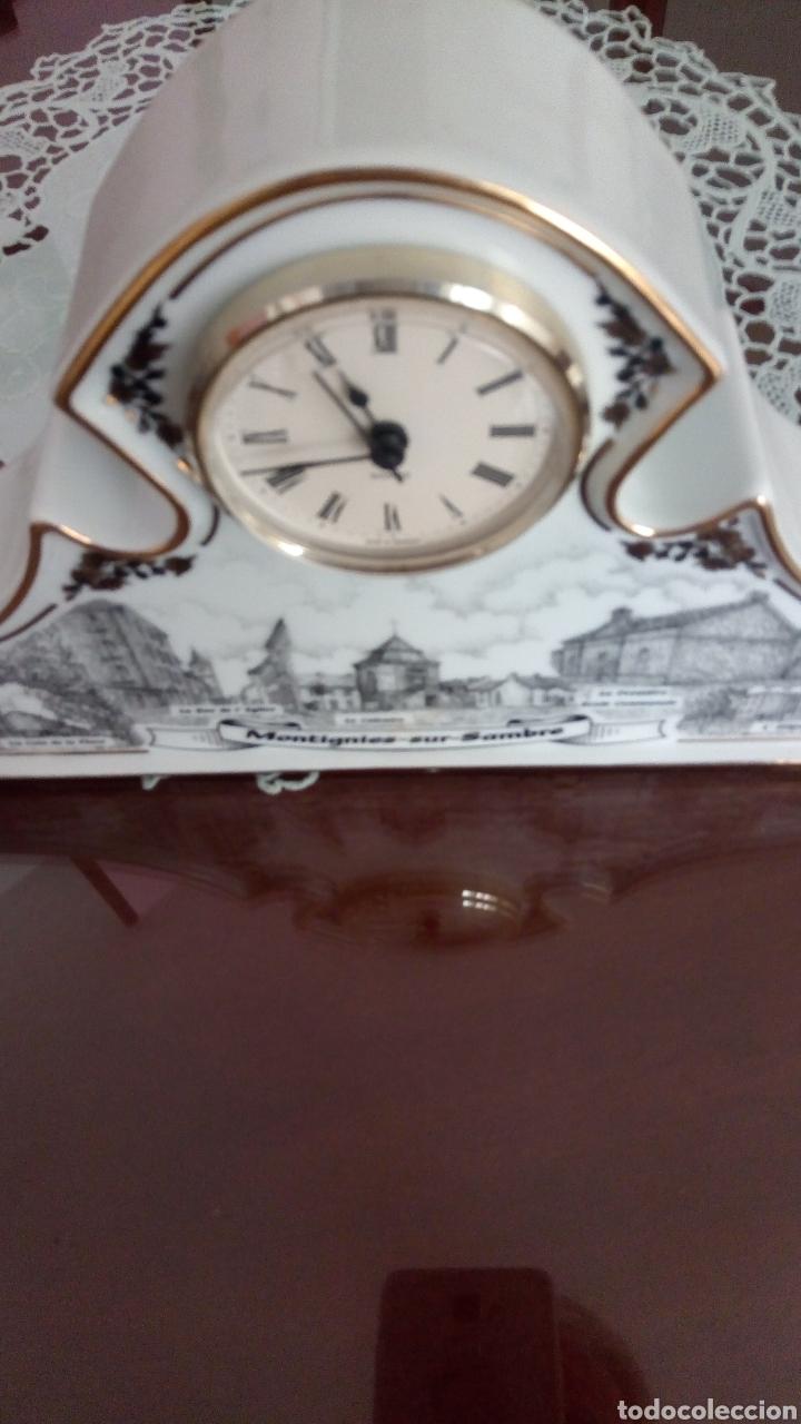 Relojes automáticos: ORIGINAL RELOJ SOBREMESA DE CERAMICA -NUMERADO CON EL 14 - Foto 4 - 217090928