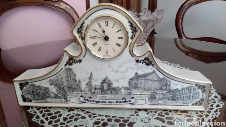 ORIGINAL RELOJ SOBREMESA DE CERAMICA -NUMERADO CON EL 14 (Relojes - Relojes Automáticos)