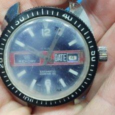 Relojes automáticos: RELOJ REXORY 17 RUBIS - PARA RESTAURAR O PARA PIEZAS - DATOMATIC MARINE 50. Lote 217682916