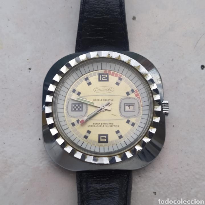 IMPRESIONANTE RELOJ DE PULSERA SÚPER DATOMATIC CON CALENDARIO TAMAÑO GRANDE (Relojes - Relojes Automáticos)