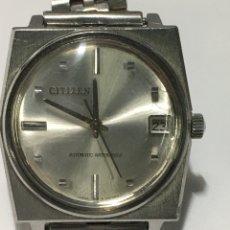 Relojes automáticos: RELOJ CITIZEN ESFERA ESPECIAL NOMBRE DE LA MARCA EN UN LADO. Lote 218723106