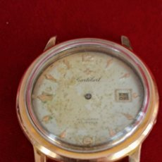 Relojes automáticos: CAJA Y DESPIECE DE MAQUINARIA CORTEBERT. Lote 218726867