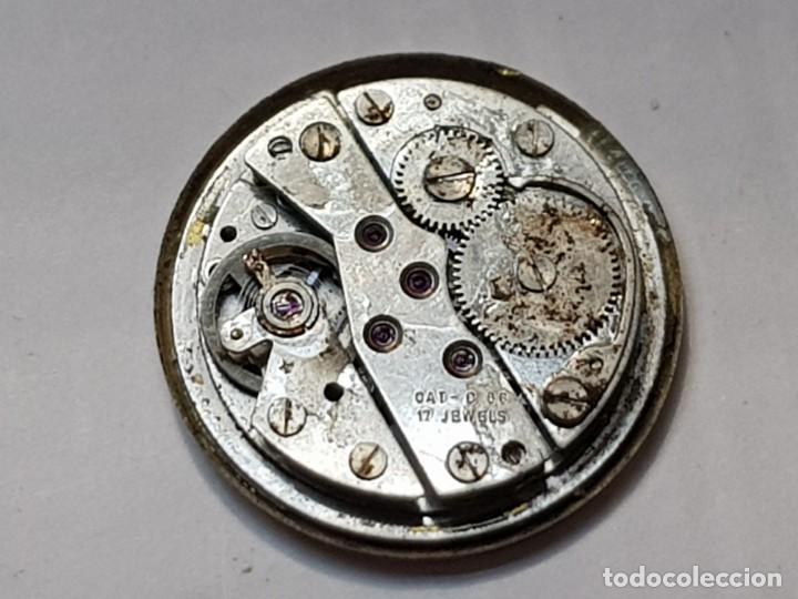 Relojes automáticos: Reloj máquina Mortina Automatic 17 jewels Superdatomatic - Foto 2 - 218859576