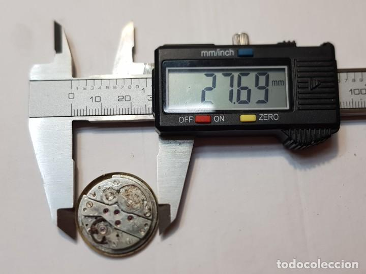 Relojes automáticos: Reloj máquina Mortina Automatic 17 jewels Superdatomatic - Foto 3 - 218859576