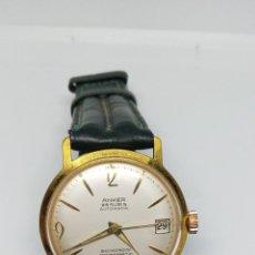 Relógios automáticos: RELOJ AUTOMATIC ANKER CHAPADO EN ORO. Lote 218962558