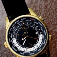 Relojes automáticos: BG AUTOMÁTICO, HORA MUNDIAL, CALENDARIO.. Lote 219411178