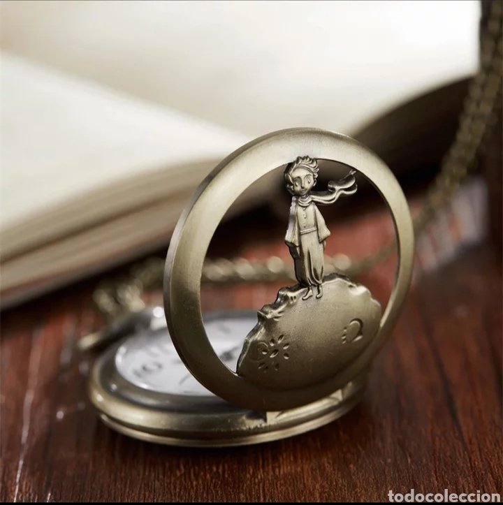 Relojes automáticos: RELOJ DE BOLSILLO EL PRINCIPITO. LE PETIT PRINCE. VINTAGE - Foto 3 - 220286118
