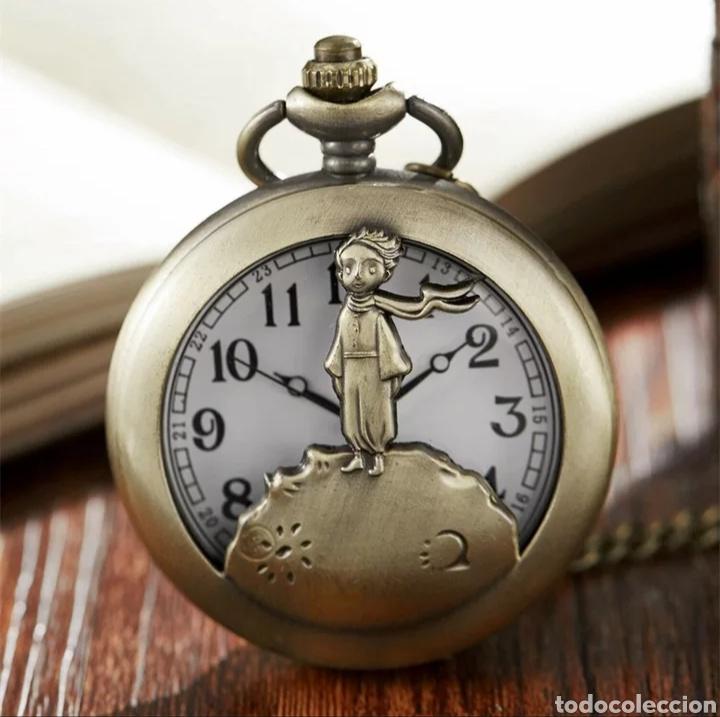 RELOJ DE BOLSILLO EL PRINCIPITO. LE PETIT PRINCE. VINTAGE (Relojes - Relojes Automáticos)